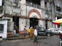 Торговый центр в Янгоне
