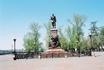 Памятник Александру II в г. Иркутске в честь окончания строительства транс-сибирской ж/д магистрали.