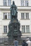 Прага. Памятник Карлу IV