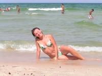я с детства привыкла все лето проводить в морской воде. но эта вода оказалась слишком соленой для меня.
