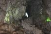 Провалились в пещеру. нам бы только до выхода (дырку видите?) доползти...