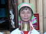 озеро Инле. Женщина с длинной шееей