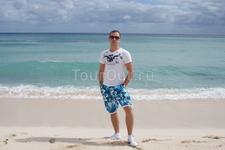 пляж близ Канкуна