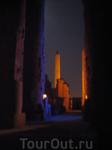 свето-музыкальное шоу в Карнакском храме