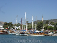 Бодрумская марина - место стоянки яхт