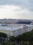 Виды с Колоннады Исаакия (снимок с телефона)