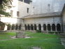 Кафедральный собор Санта Мария. Крытая галерея и дворик
