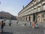 Главная площадь в Неаполе.
