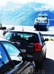 В ожидании подплывающего парома, чтоб очутиться на другом острове . Норвегия, 2011