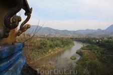 Таким виден Меконг с холма Пуси