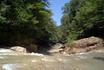 Отдельных слов заслуживает река Сахрай.Если вы хотите искупаться и позагорать,то надо ехать на Сахрай,там очень чистая и теплая вода,очень красивый каскад ...