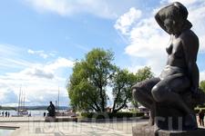 на набережной в Осло