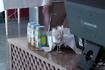 Детское питание на кассе ресторана.