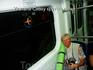 В метро  из Афин в аэропорт-домой...