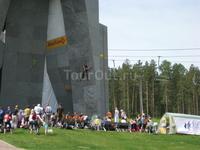 Соревнования по скалолазанию на искусственном рельефе