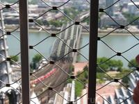 панарома с Кельнского собора испорчена сеткой....не всякий объектив пролезет в ячейку