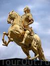 Фотография Золотой всадник в Дрездене