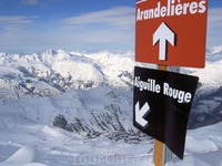 Descent from Aiguille Rouge