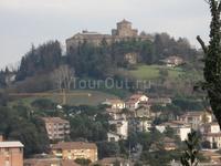 Италия, Чезена, собор Мадонны дель Монте на вершине