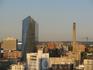 Филадельфия утром (вид из отеля)