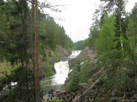 Собственно сам водопад Кивач