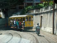 А это их знаменитый трамвайчик, в который нам все усиленно не советовали садиться, очень много там краж и нападений на туристов.