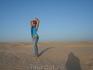 Знойная пустыня Сахара