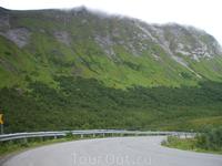 тпичный северонорвежский ландшафт, чуть облагороженный человеком