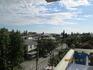 Вид с нашего балкона по Гечба 2. Видно море!