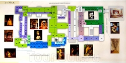 Карта Эрмитажа