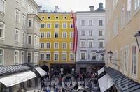 Переулок Гетрайде и музей Моцарта