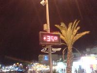 Вечером в сентябре в Шарм-эль-Шейзе 35 градусов и ни ветерка! Но мне очень это нравилось - тепло!