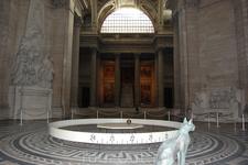 маятник Фуко в Пантеоне