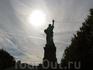 Статуя Свободы. Вид сзади.