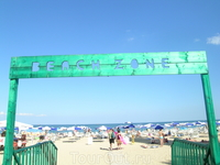 Beach zone