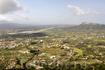 Вид с панорамной площадки Филеримского креста, виден аэропорт Родоса