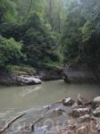 Гуамское ущелье, красота поворотов и изгибов рек