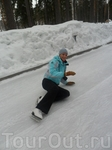 """Охта-Парк""...Не только падает снег!))"