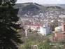 На Сосновой горке; вид на город