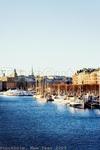 парусники Стокгольм расположен на нескольких десятках островов )  мостики мостики мостики ))) и белые яхты ) + архитектура )