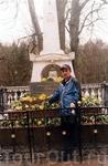 На могиле А.С.Пушкина