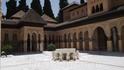 Granada - Alhambra Львиный дворик (на реставрации)