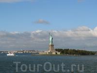 Статуя Свободы с парома Стейтен-айленд