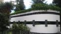 Вход в Никитский ботанический сад. На входе обратите внимание на схему сада и правильно рассчитайте свои силы - сад очень большой.