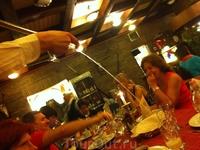 Оригинальная подача токайского вина