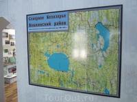 Карта Северного Белозерья.