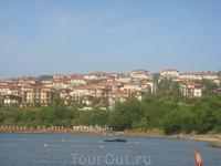 Вид на отель Санта Мария