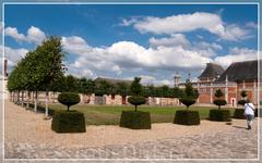 Castle and Gardens of Champ de Bataille(Шато дю Шамп де Батай), тот случай,когда мы воспользовались почти индивидуальным туром: вместо очередной дегустации кальвадоса решили посмотреть замок,что не бы