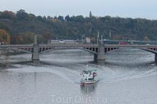 Прага. Вид с Карлова Моста