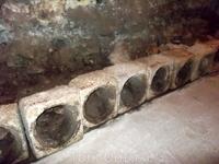 Остатки средневековых водопроводных труб